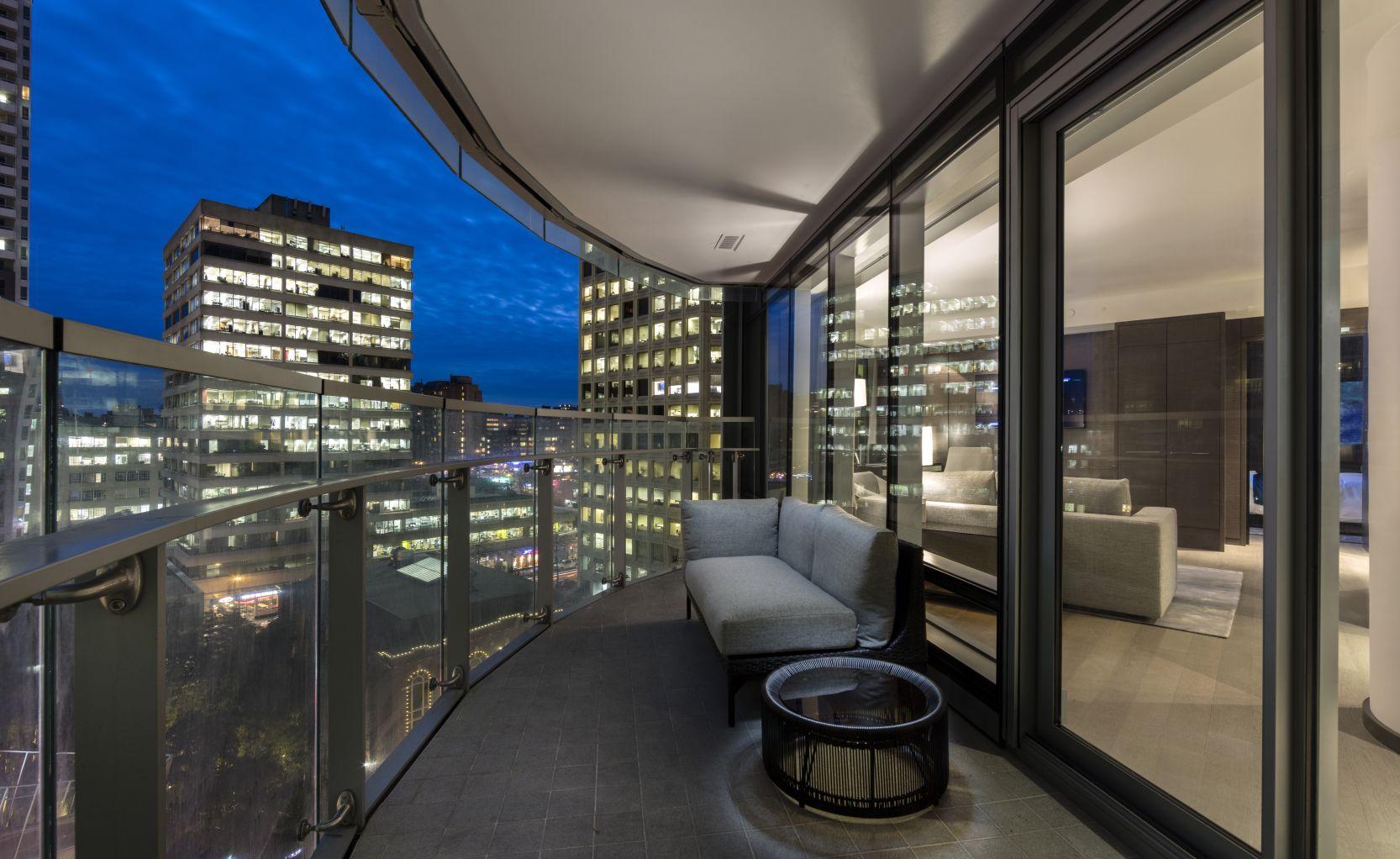 vancouver penthouse terrace