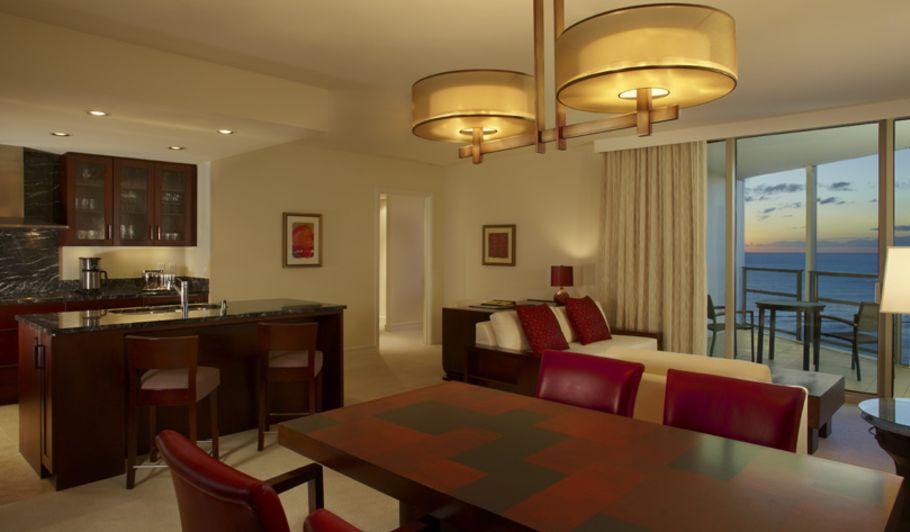 Luxury Hotel Suite Living Room