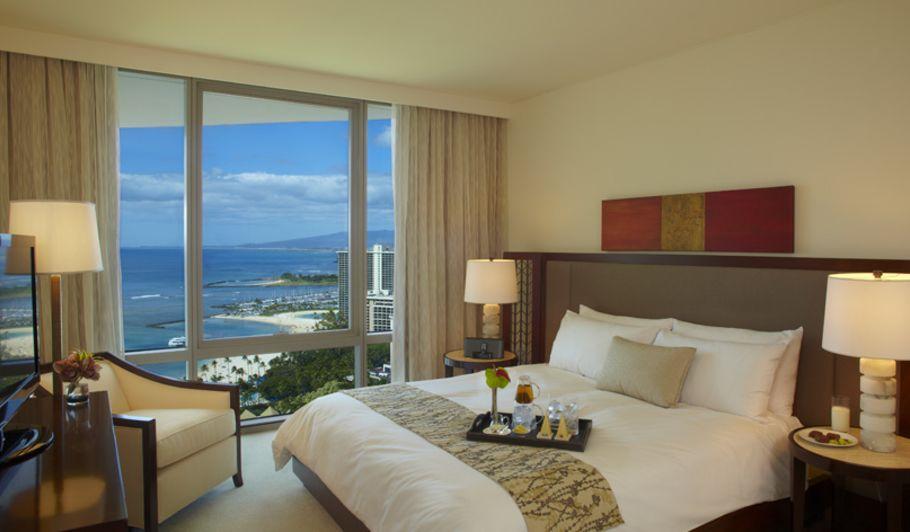 Oceanfront Luxury Hotel Room