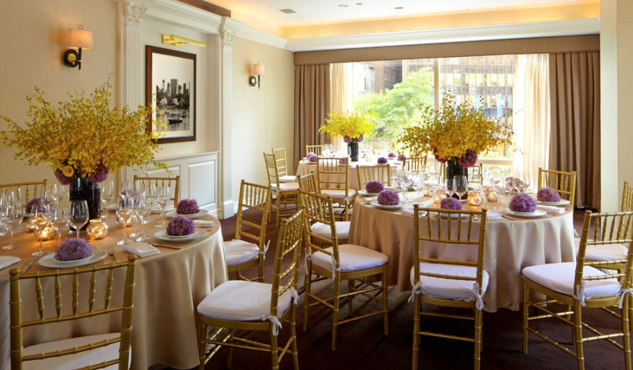 Wedding Reception Dining Table Setup