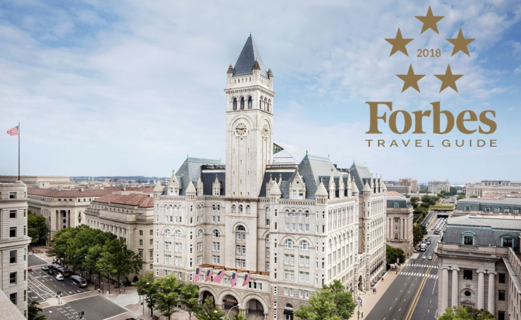 Hotel Exterior With Forbes Travel Guide Award
