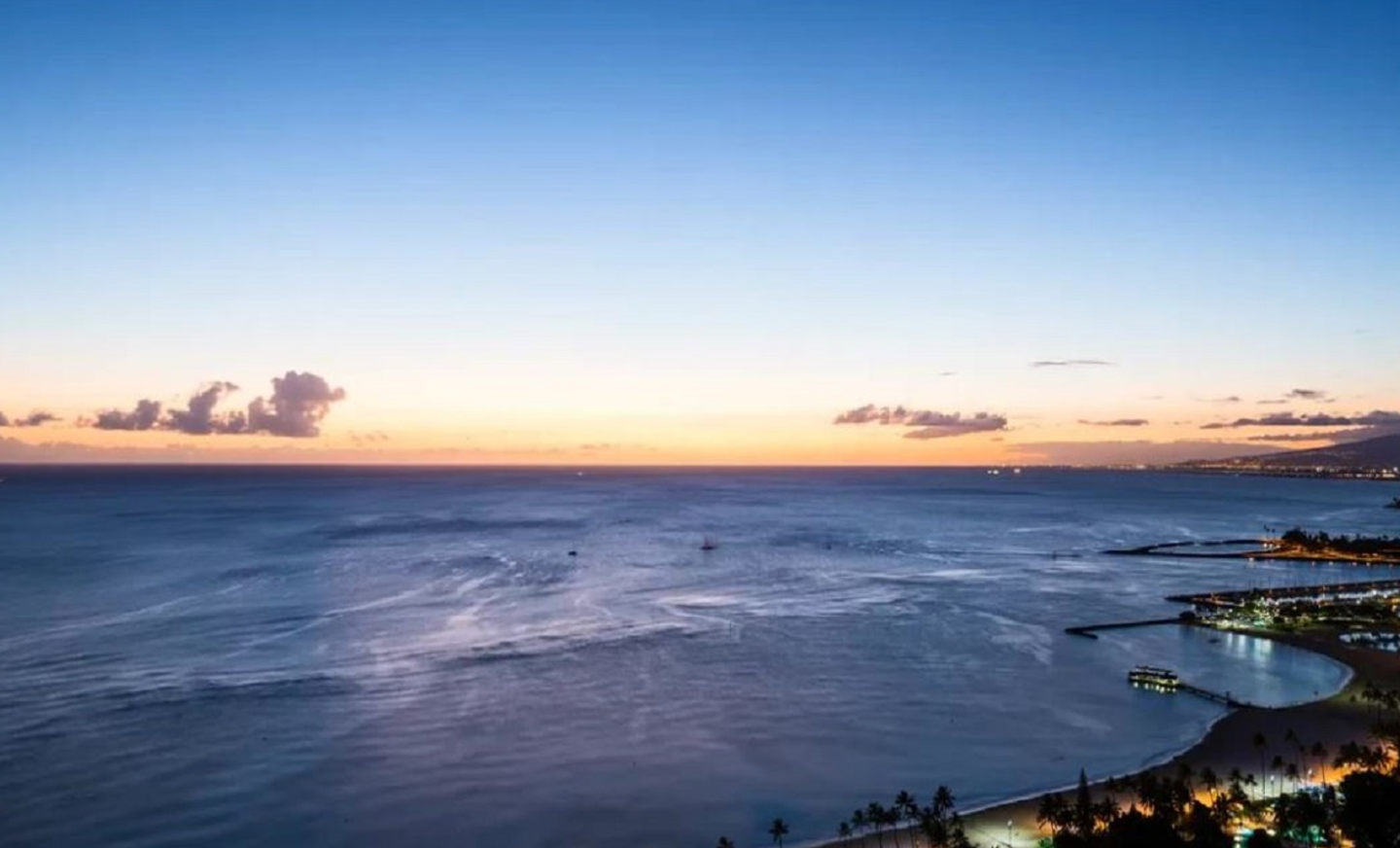 Hotels Waikiki - Beach & Ocean at Sunset
