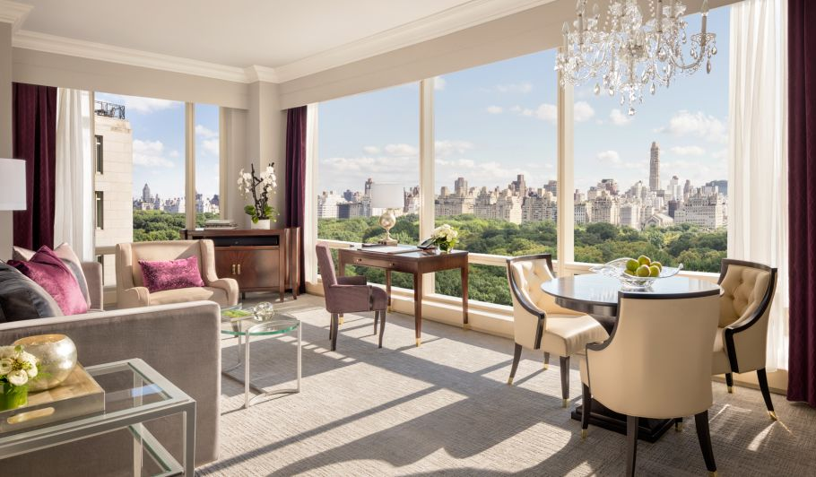 central park luxury accommodations