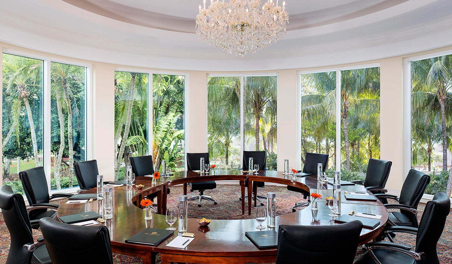board room at Trump Miami
