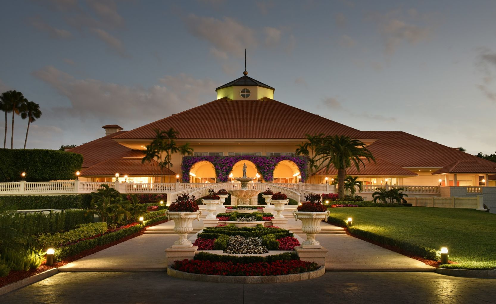 Trump Doral golf clubhouse