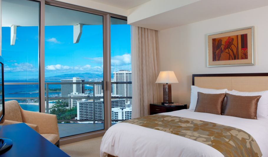 Luxury Oceanview Hotel Room