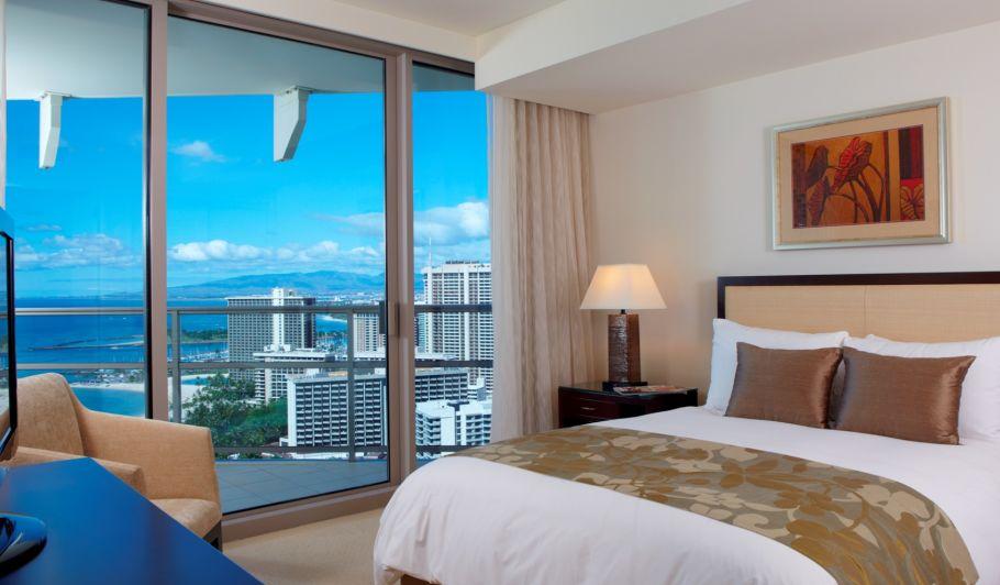 Luxury Oceanview Hotel Room