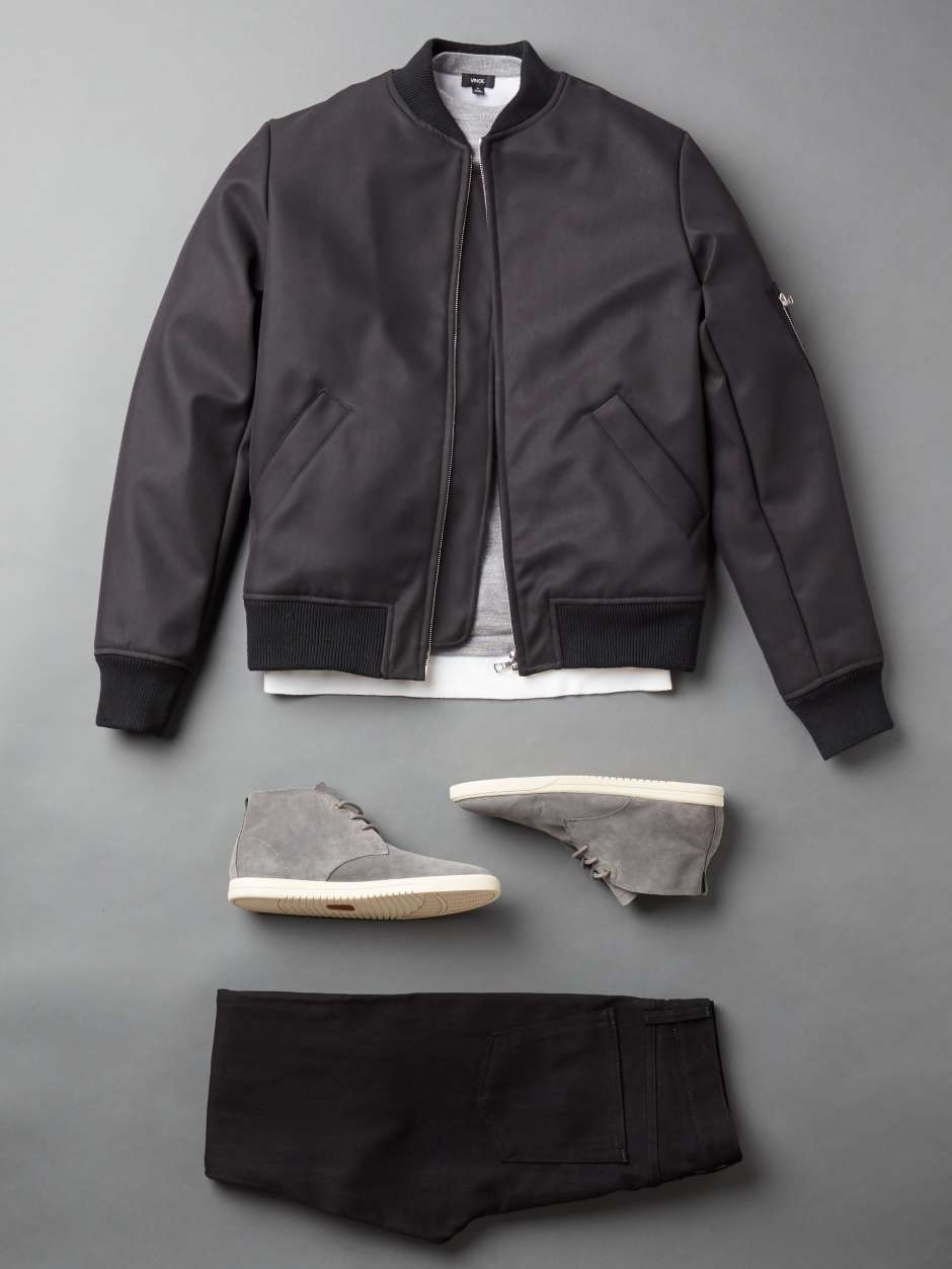 A.P.C Black Bomber Jacket
