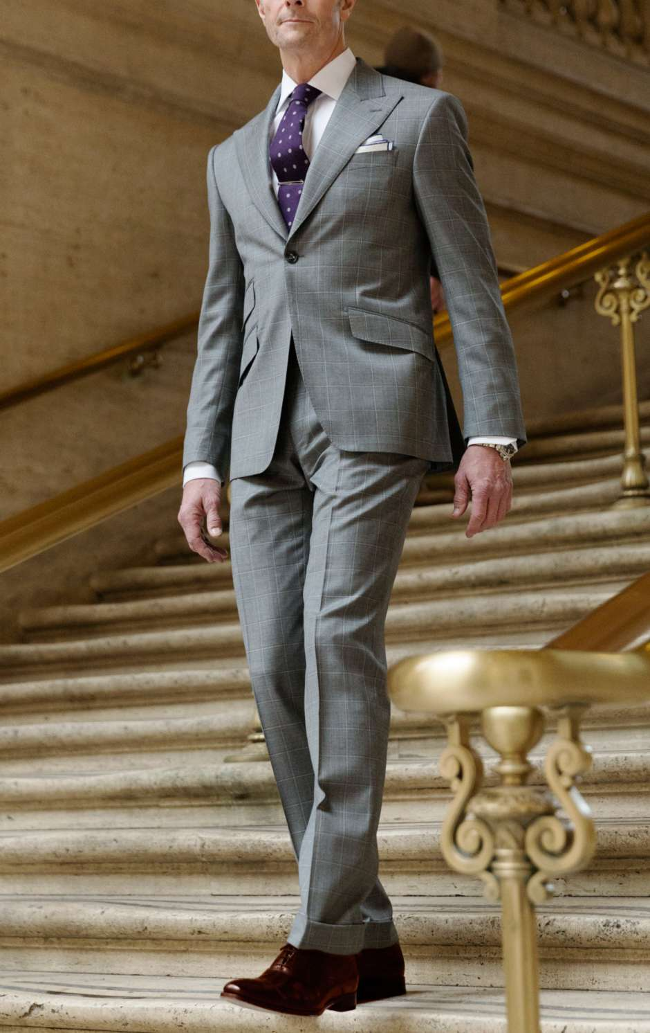 How to Wear Brown Shoes with a Suit - Trunk Club
