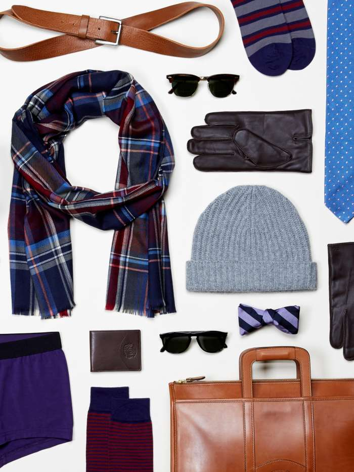 Men's autumn accessories