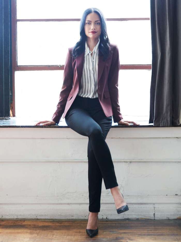 Women's business casual blazer