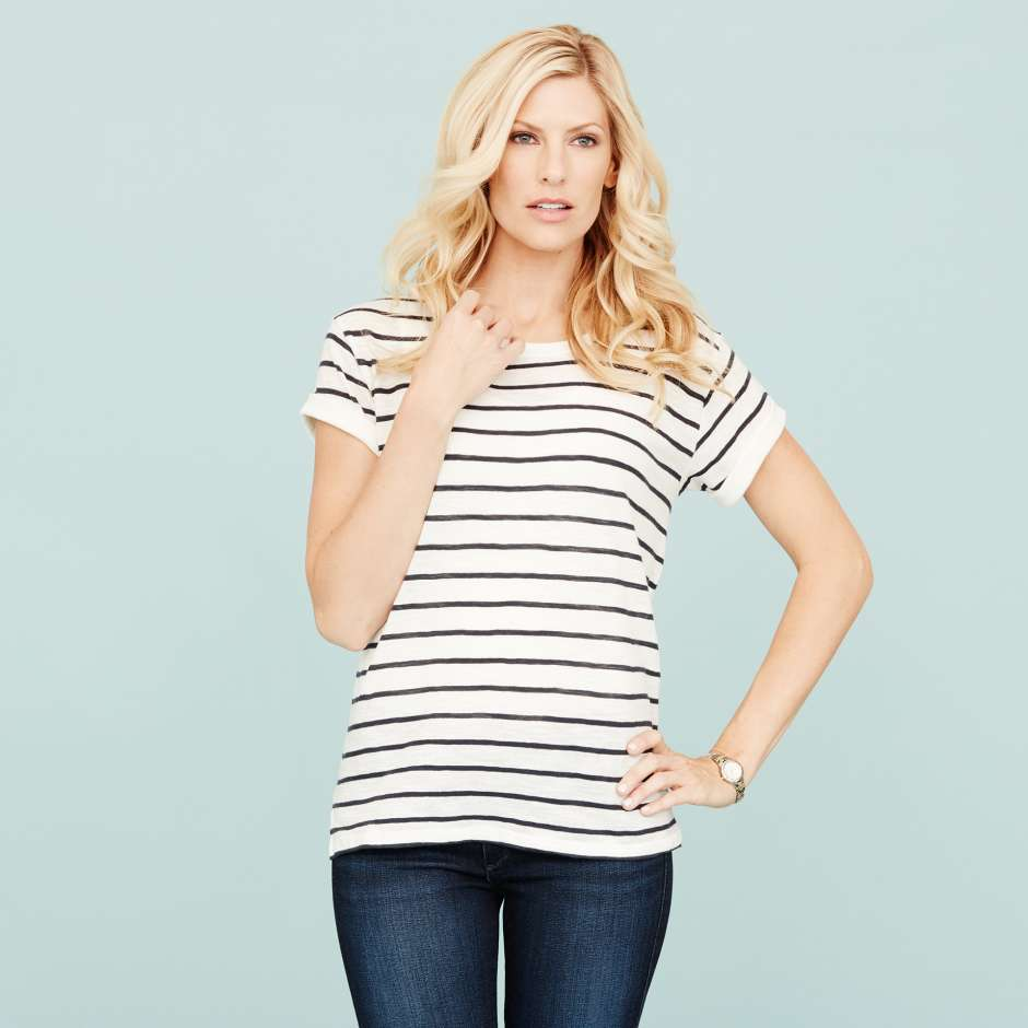 Women's clothing Essentials Striped Shirt