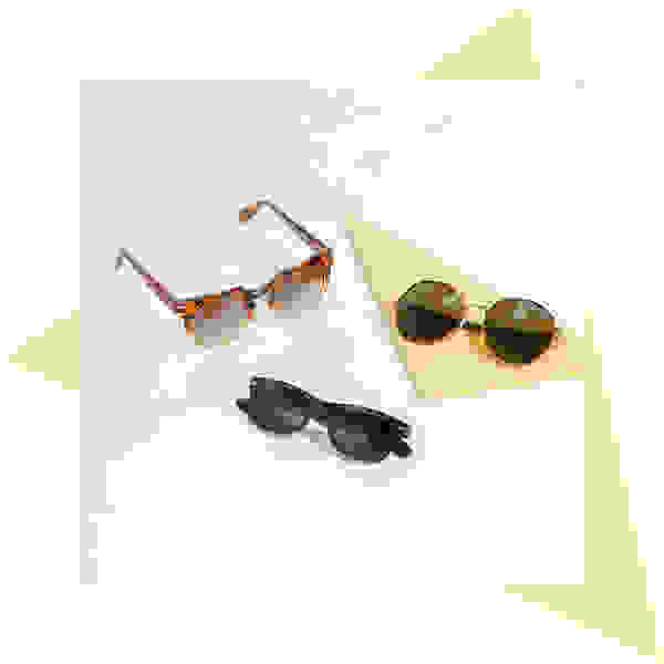 Tortoise shell sunglasses for women