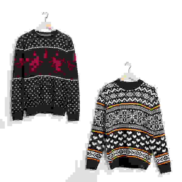 Kitschy sweaters