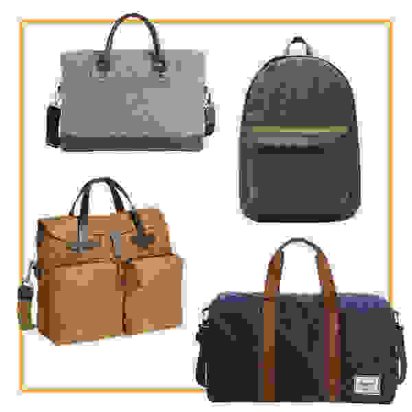 Bags and backpacks.