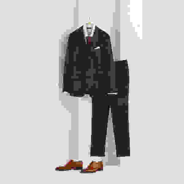 Classic cocktail party suit