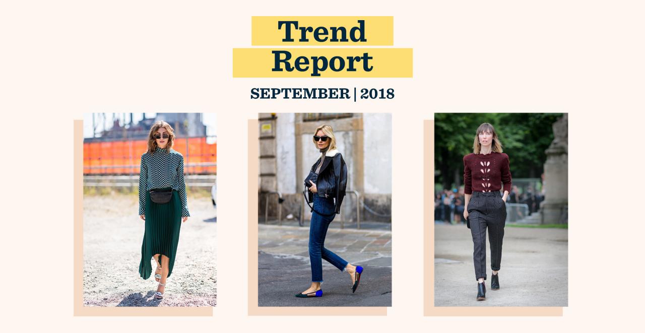 September Trend Report: Hello, Fall
