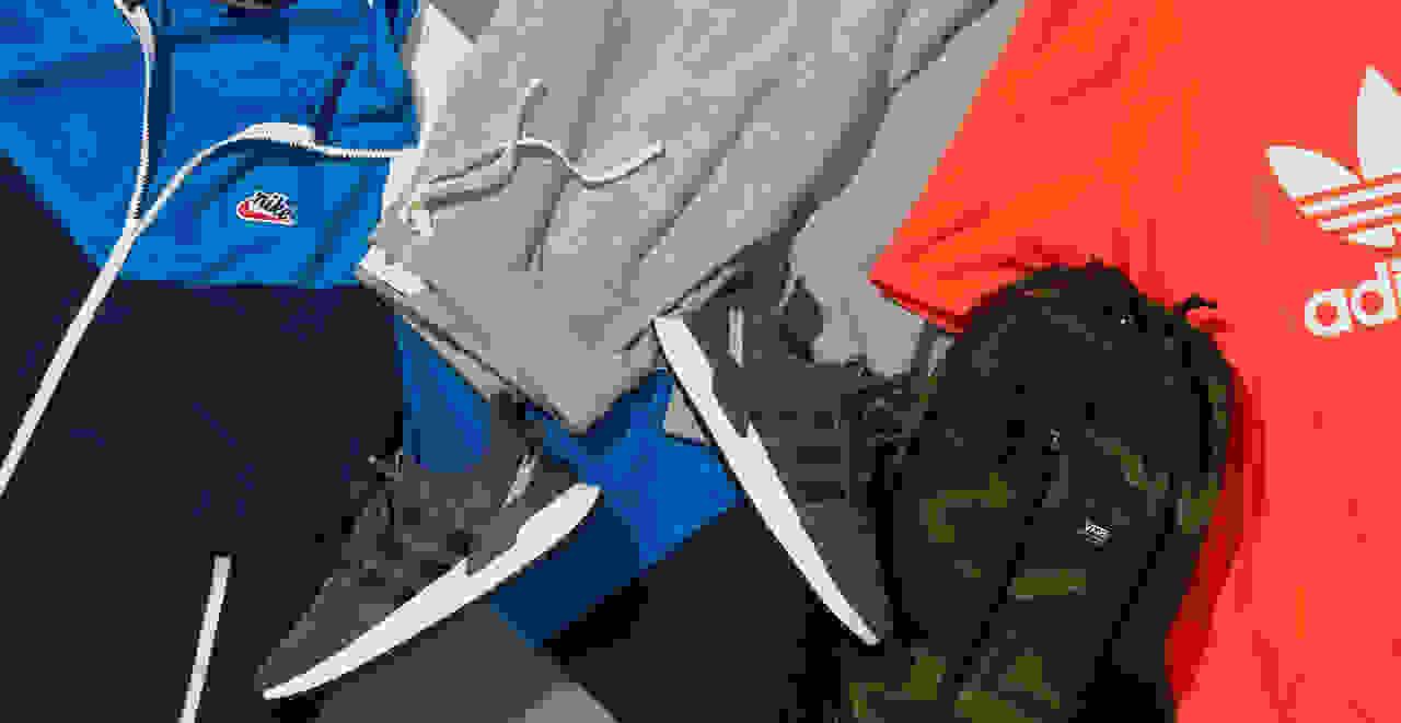 Men's winter activewear clothes