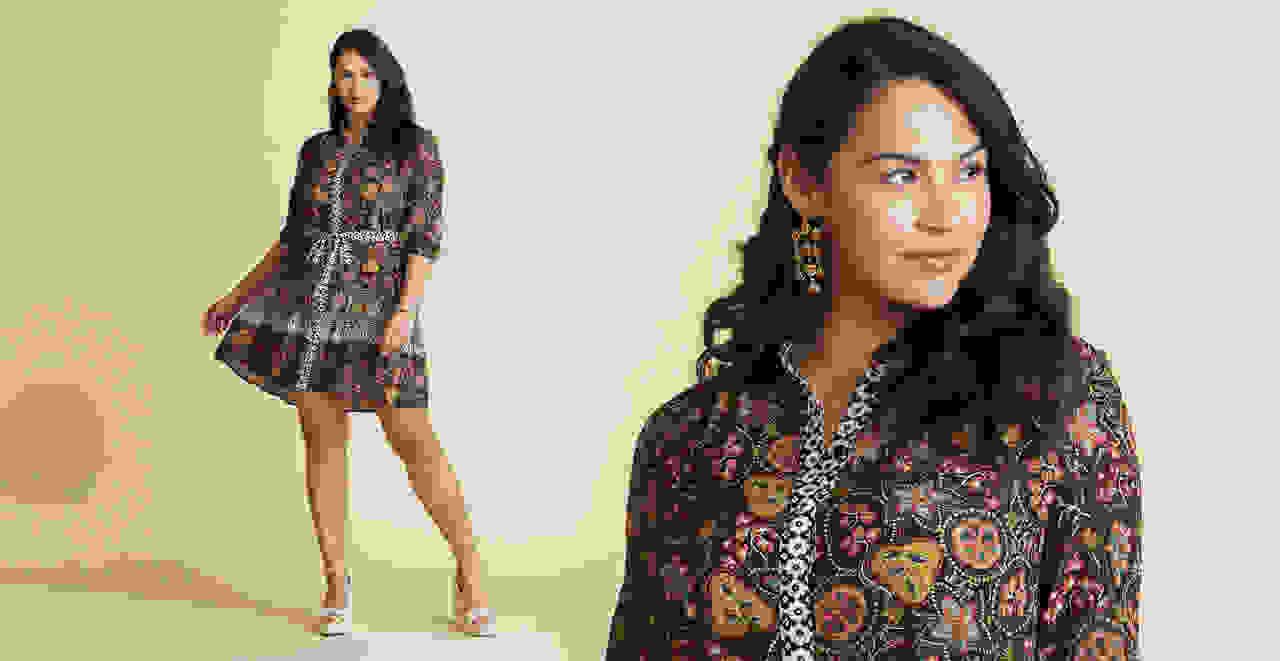 Mini Dress for Hourglass Figure