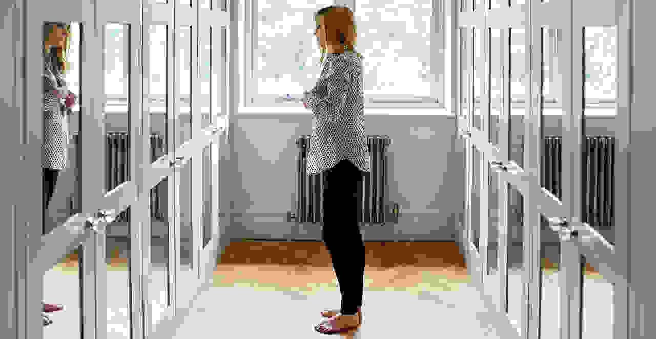Women in a dressing room