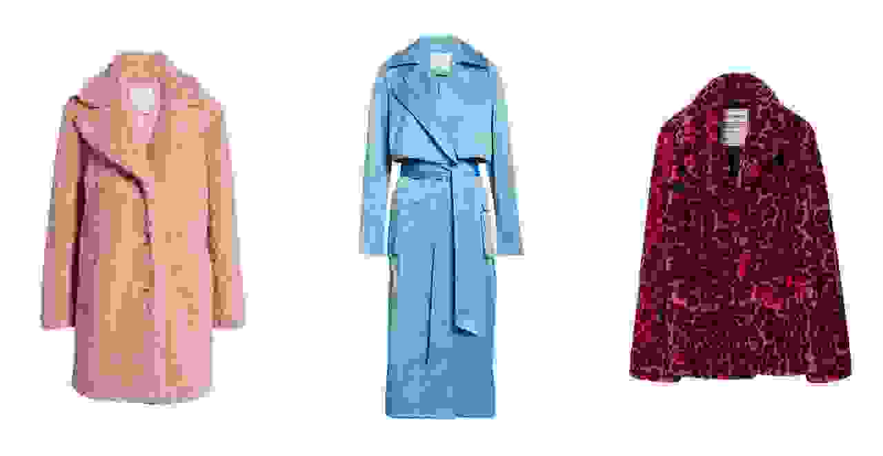 Women's fall coat collection