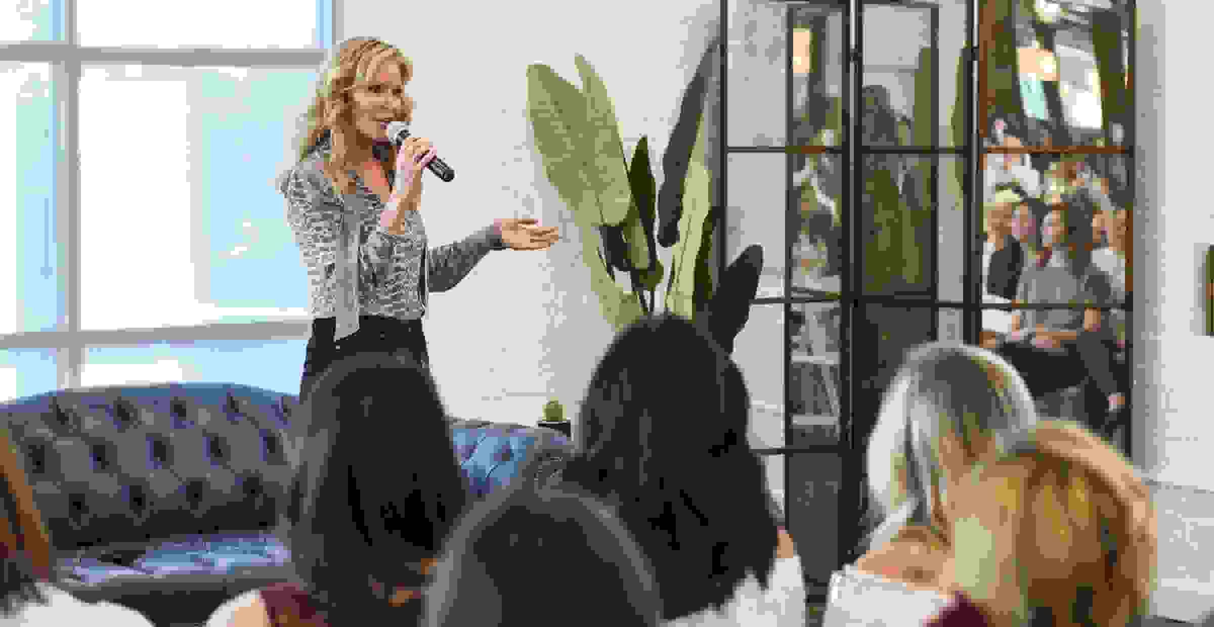 Paige Denim founder Paige Adams-Geller