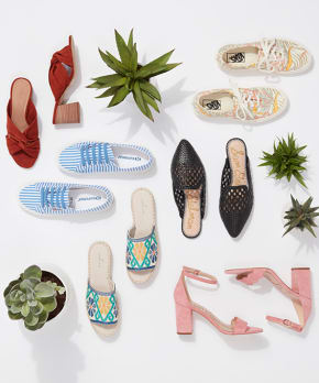 The 4 Shoes You'll Live in All Summer