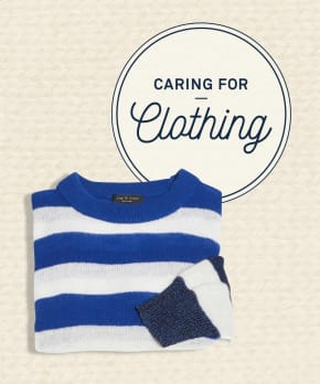 Caring for Clothing: Sweaters