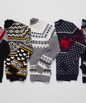 Bring on the Festive Fair Isle Sweaters