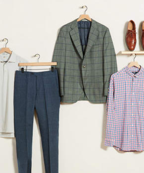 Men's Business-Casual Looks for Summer