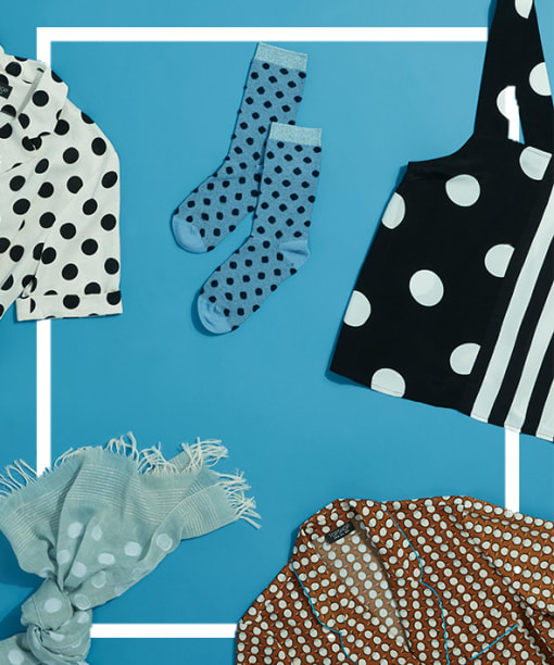 Spot on: 3 Ways to Wear Polka Dots
