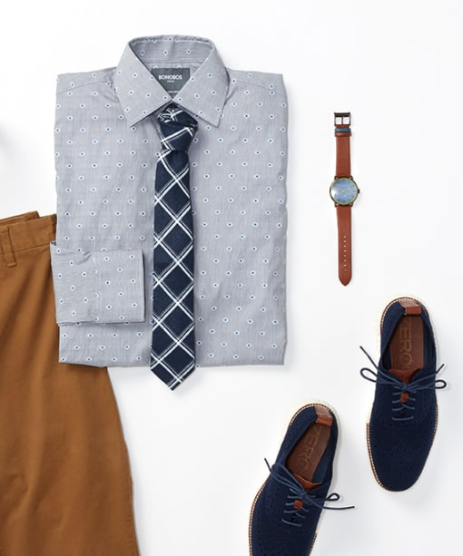 How to Match Your Shirts and Ties