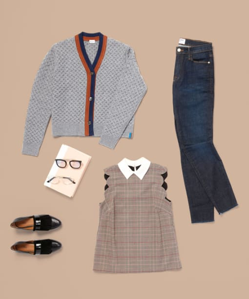 A Preppy Approach to Fall Dressing
