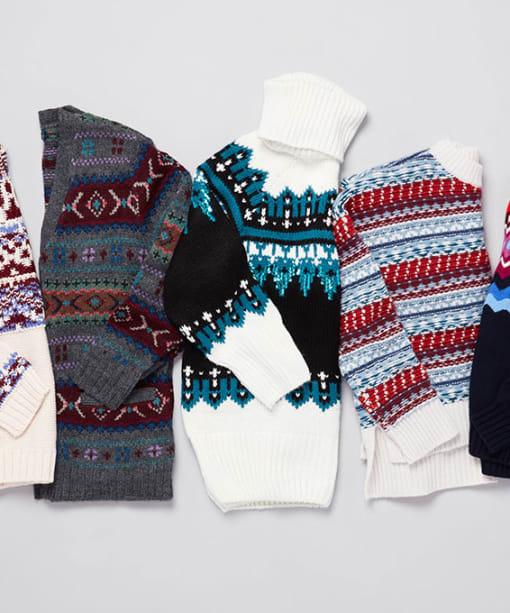 Fair Isle Sweaters to Wear All Winter