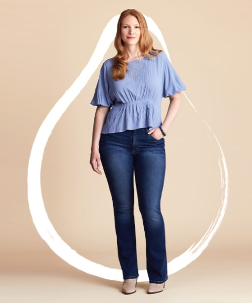 How to Dress a Pear-Shaped Body