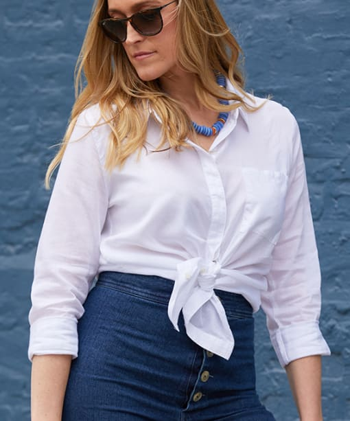 How to Style a Classic White Shirt or Blouse