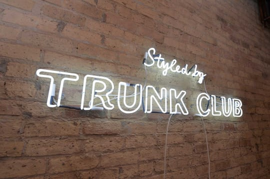 Trunk Club Unveils its Revamped Chicago Headquarters and Clubhouse  with New Building Marquee and Reimagined Retail Space