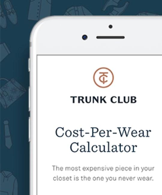 Trunk Club's Cost-Per-Wear Calculator