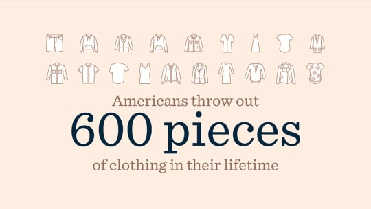 New Trunk Club Survey Finds Americans Throw Out 600 Pieces of Clothing in Their Lifetime