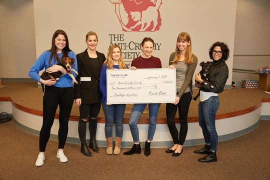 Trunk Club Donates $15,000 to Employees' Favorite Charities