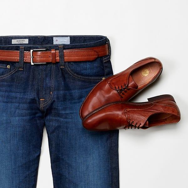 mens-brown-shoes-belt