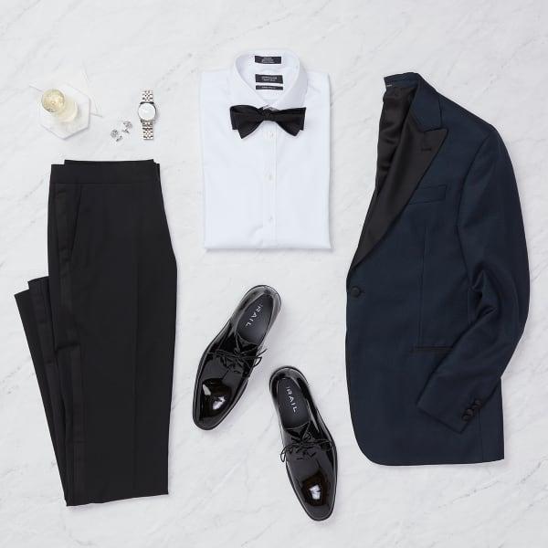 Formal wedding guest attire for men