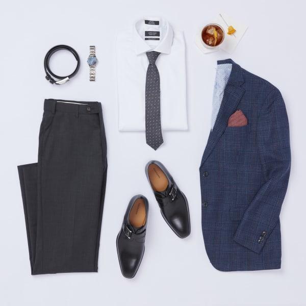 Dressy casual wedding guest attire for men