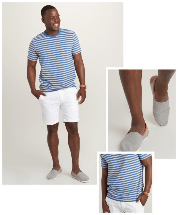 Boating outfit for men