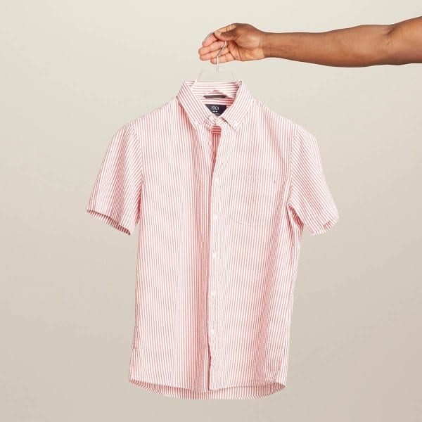 Seersucker shirt for men