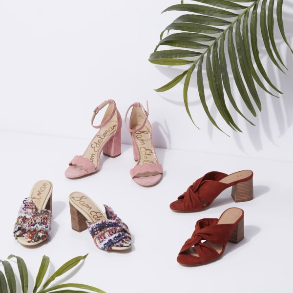 Heeled sandals for women