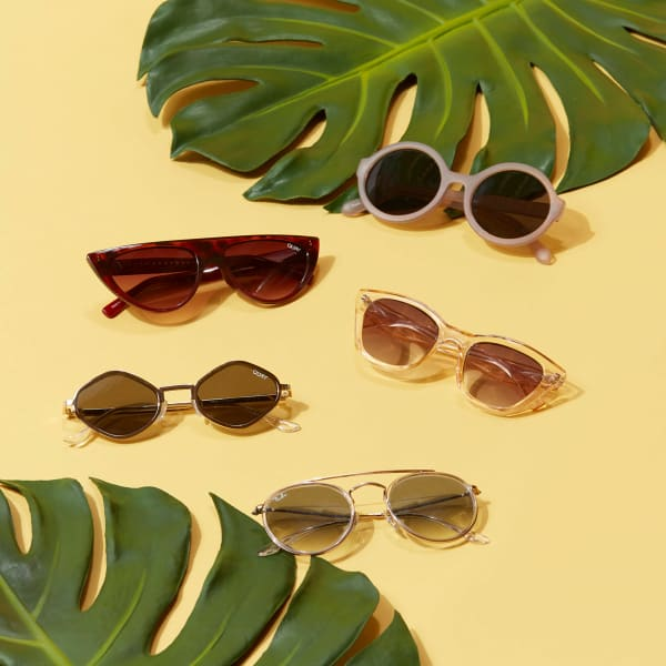 Women's sunglasses for the beach