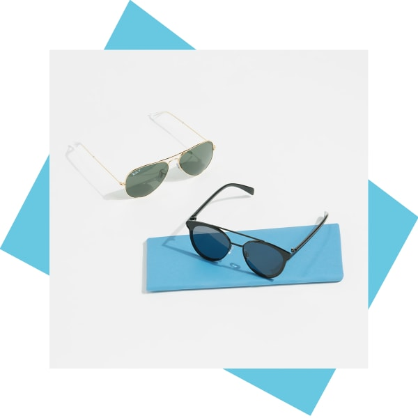 Aviator sunglasses for women