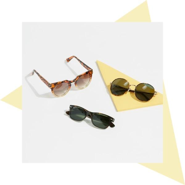 Tortoise shell sunglasses for women