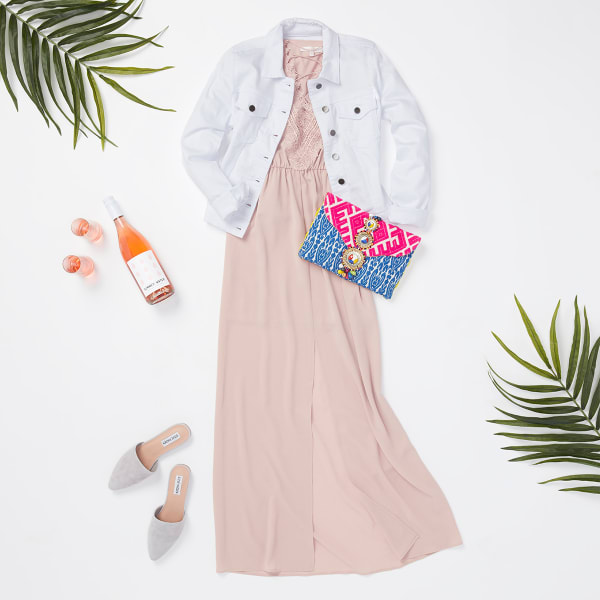 Kimono Maxi Dress for Women